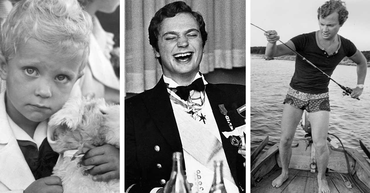9 härliga retrobilder på kungen – som du bara inte får missa