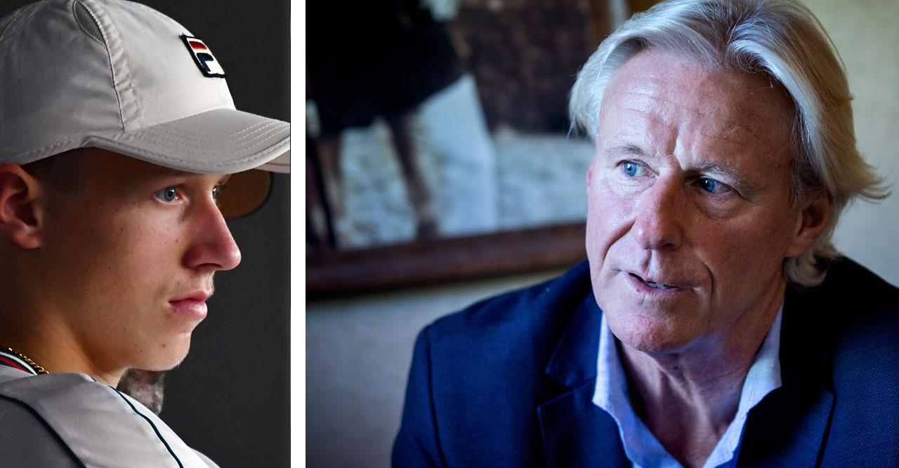 Björn Borg får beskedet – splittras från sin son