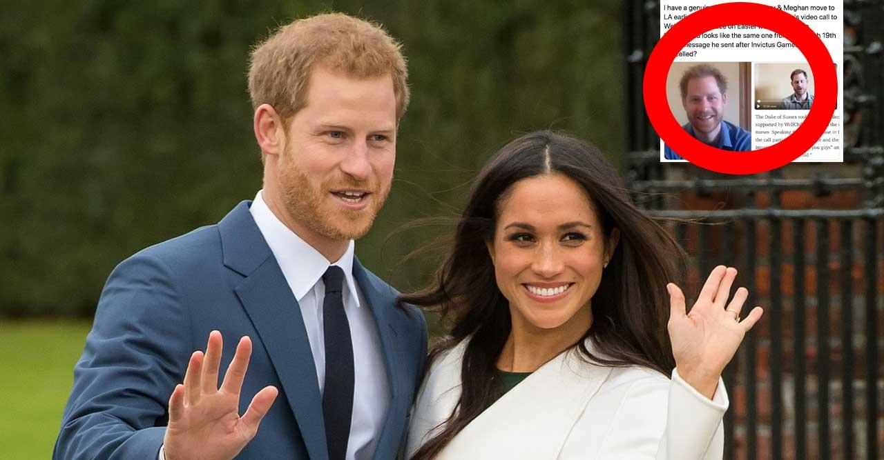 Bilderna förvirrar – har Harry och Meghan lurat oss alla?