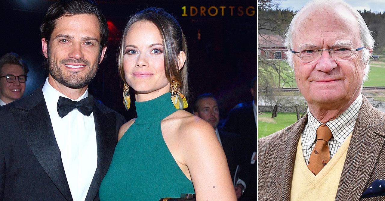 Carl Philips och Sofias överraskning på kungens födelsedag!