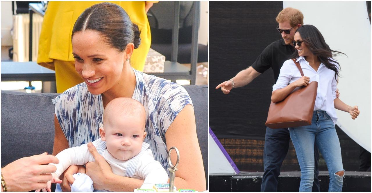 Harry och Meghan gör allt för att skydda sin son.