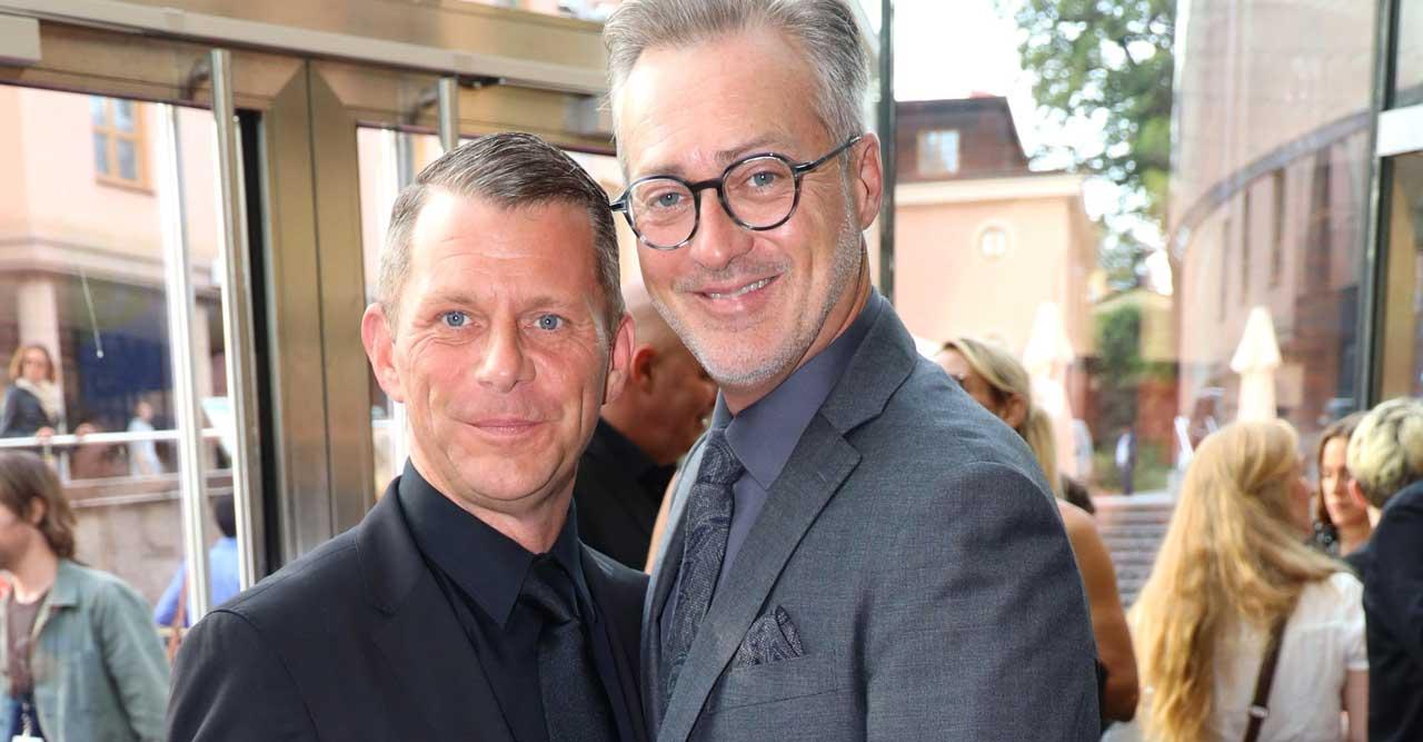 Tony och maken Alexander är så lyckliga tillsammans!