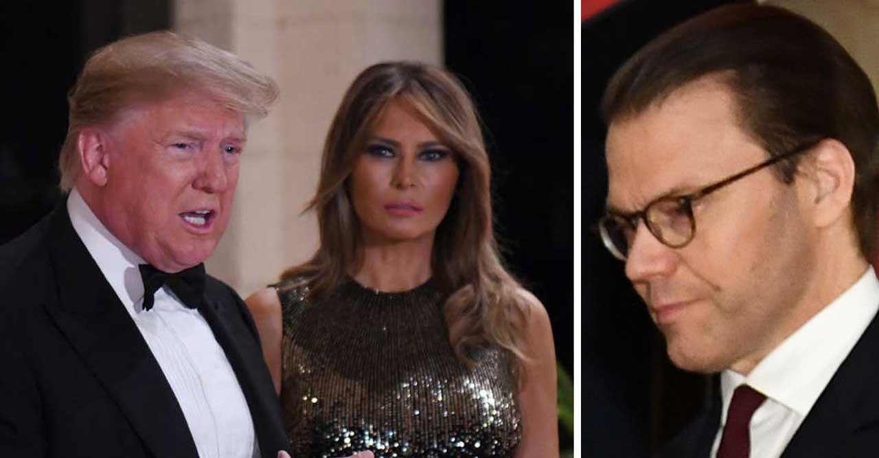Trump ringde upp prins Daniels vän.