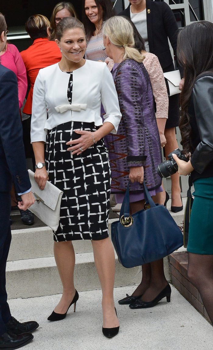 kronprinsessan victoria gravid med prins oscar 2015