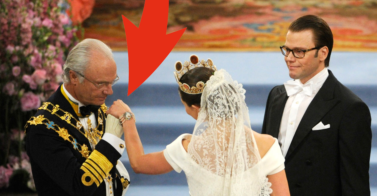 Bilden från Victorias bröllop väcker upprörda känslor – tio år senare!