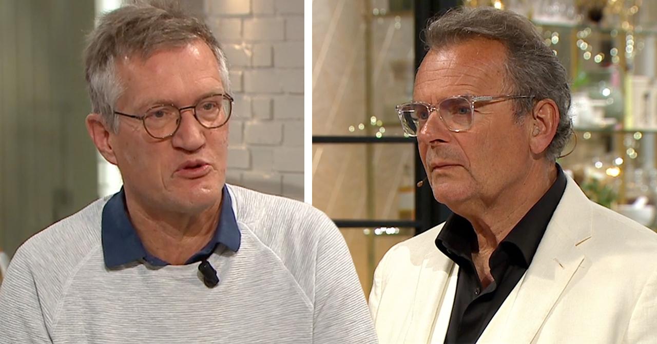 Anders Tegnells oväntade relation med Steffo Törnquist