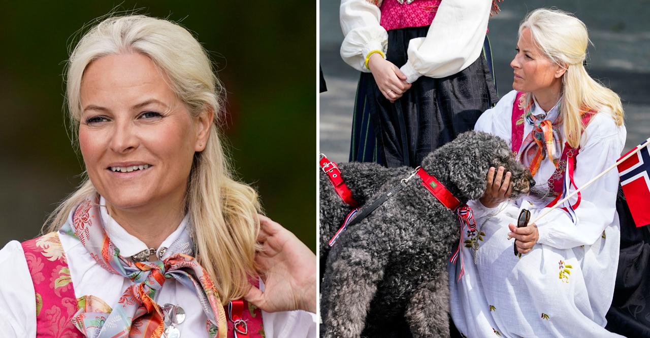 nya bilder på kronprinsessan mette-marit 17 maj