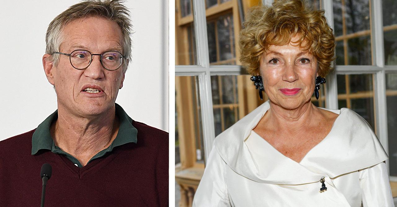 Anders Tegnell och Amelia Adamo har lite olika syn på saken.