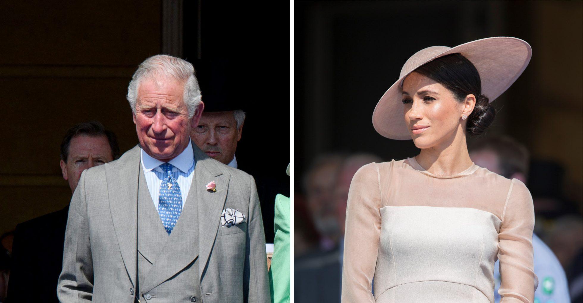 Meghans reaktion – efter det fräcka skämtet inför Charles