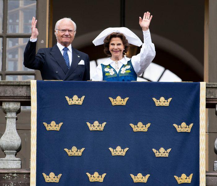kungaparet logården nationaldagen 2020