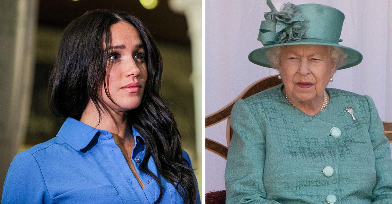 Meghan trotsar drottningen trots tydliga regeln