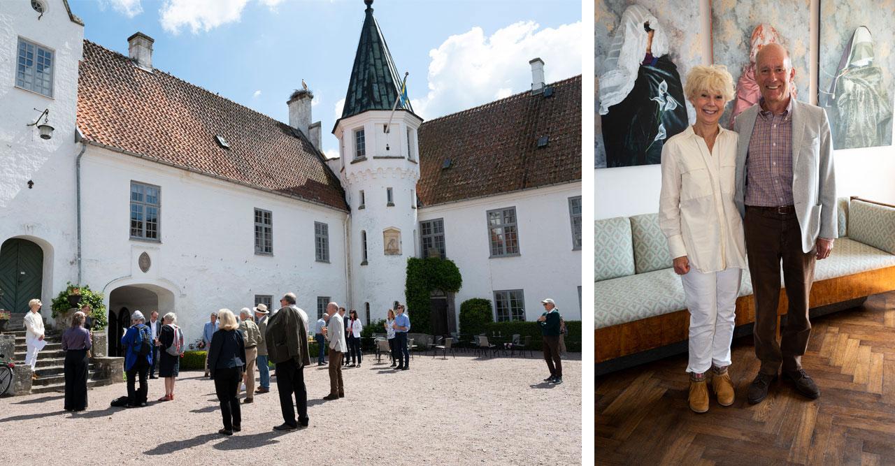 Strålande fin vernissage på Bosjökloster i Skåne