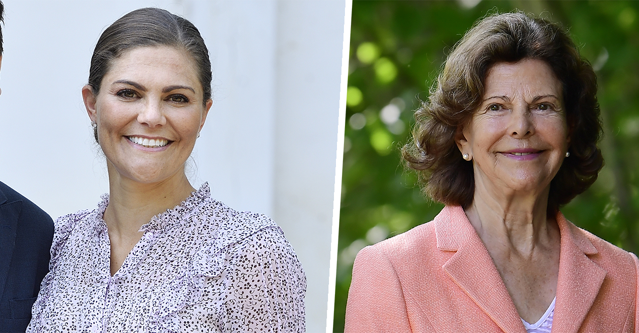 39 år senare! Victoria dök upp i Silvias gula klänning