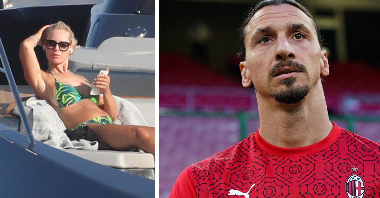 Helena och Zlatan har njutit av livet i Saint Tropez.