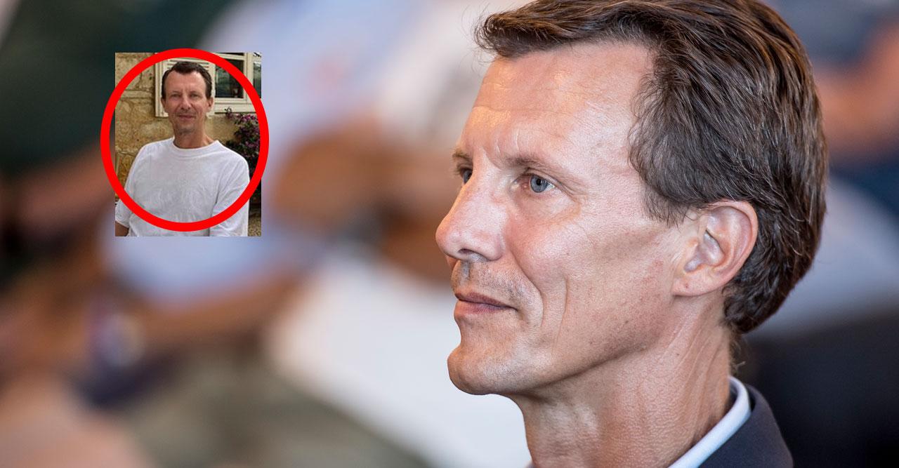 Stora oron efter nya bilden på Joachim: