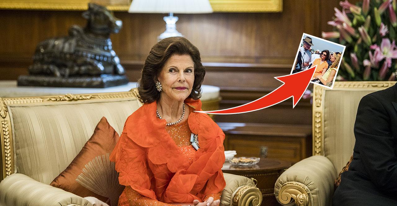 drottning silvia på hemlig tv-insplening