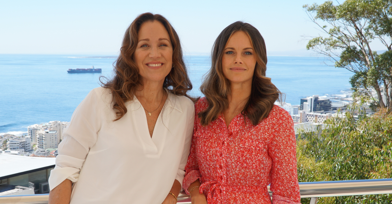 Prinsessan Sofia med Rénée Nyberg i dokumentär om TV4:s Project Playground