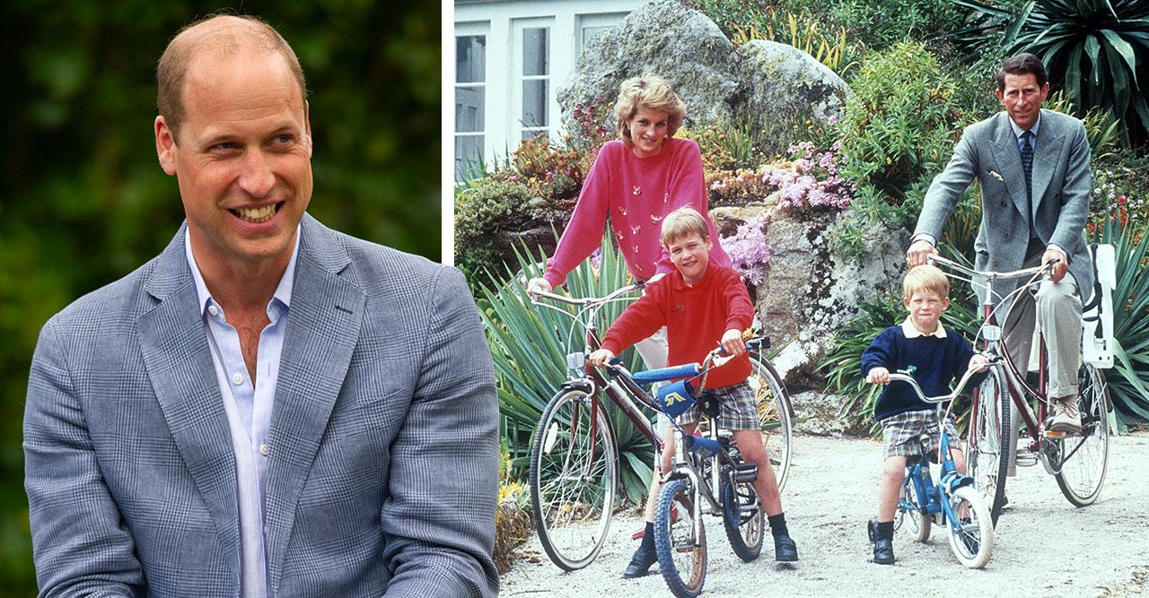Williams speciella resa med barnen – i Dianas fotspår
