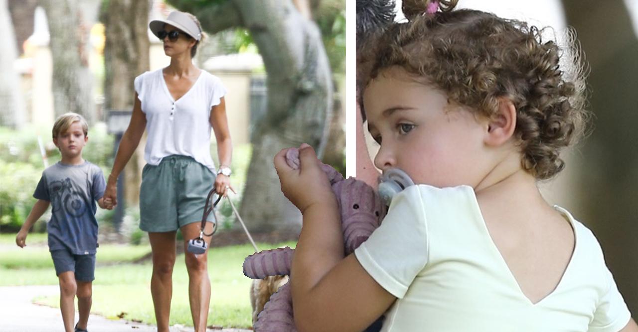Prinsessan Madeleine Adrienne prins Nicolas hunden Teddy i Miami Florida