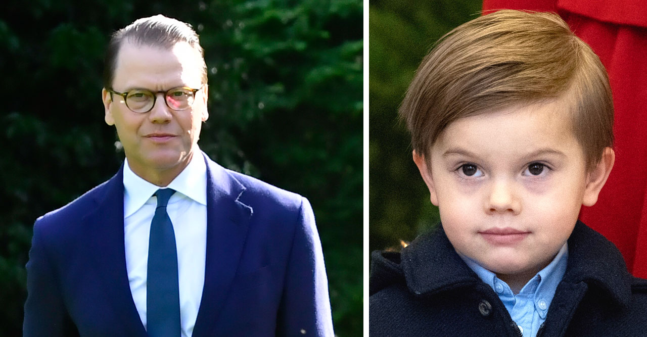 prins daniels beslut för prins oscar