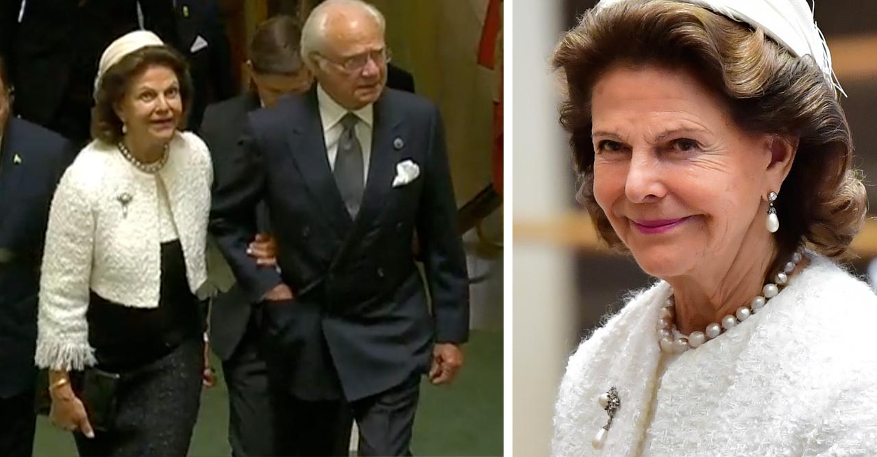 Kungen drottning Silvia kungaparet Riksmötet 2020
