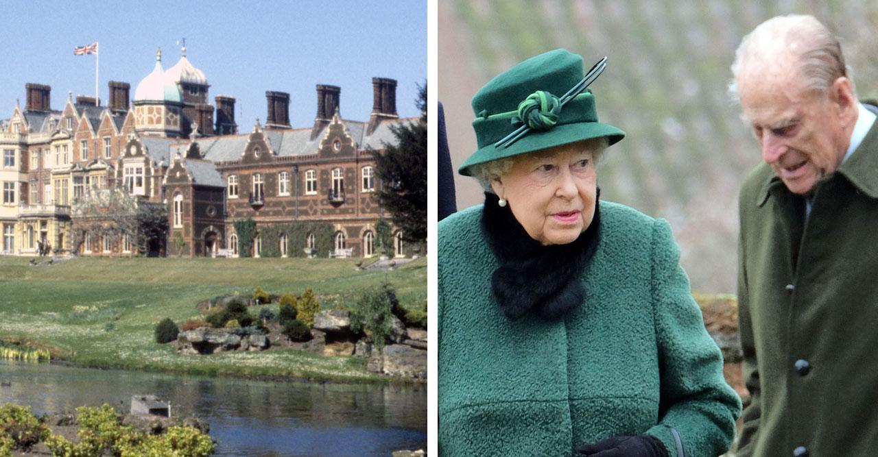 Oro för Elizabeth – flyr i panik med prins Philip