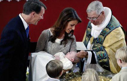 Danmarks lilla guldklimp döpt