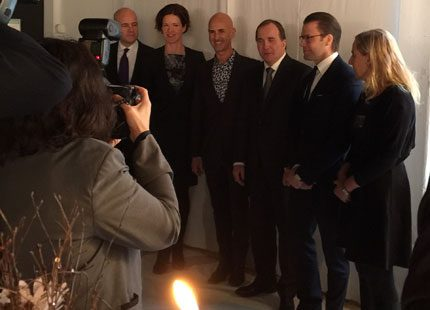 Prins Daniel: Vi får aldrig glömma Auschwitz