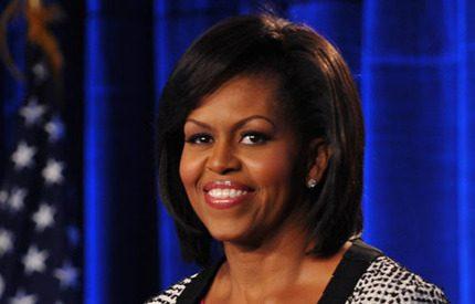 Fergie kompis med Michelle Obama