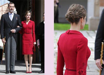 Kronprinsessa Letizia i ormskinn