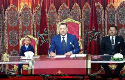 Marockos kung firade 10 år på tronen