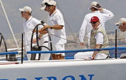 Kung Juan Carlos har <br>vind i seglen
