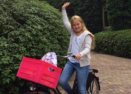 Kronprinsessan Catharina Amalias första dag i skolan