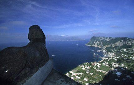 Det var här på Capri som Jonas friade till Madeleine