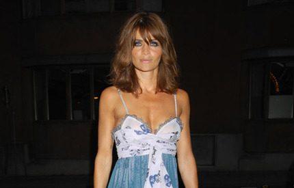 Odd Molly-vimmel med modellen Helena Christensen
