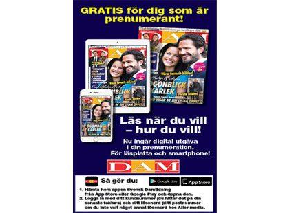 svensk dam prenumeration