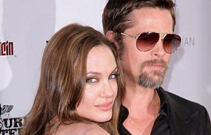 Angelina Jolie och Brad Pitt flyr USA