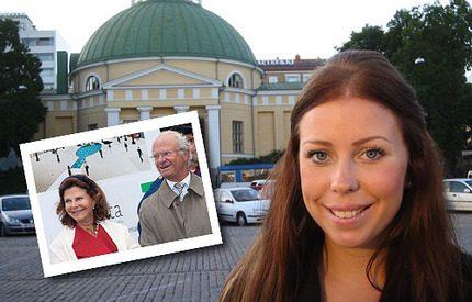 Följ med Johanna på kungaparets Finlandsbesök!