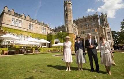 Kungliga systrar på kulturellt besök i Tyskland