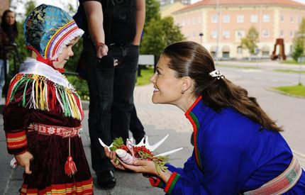 Kronprinsessan Victoria öppnade Sametinget