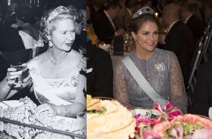 Prinsessan Madeleine och farmor Sibylla har aldrig varit mer lika!