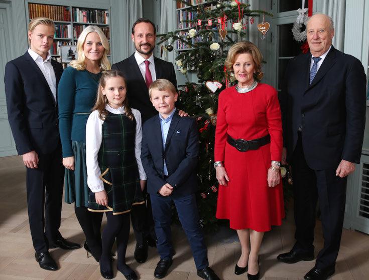 God Jul från norska kungafamiljen!