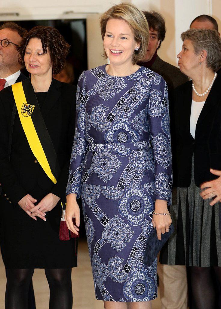 Kungliga damer i hjärterrött - här är ladies in red!