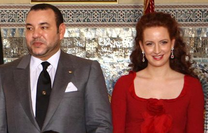 Kungen av Marocko har <br> lagts in på sjukhus