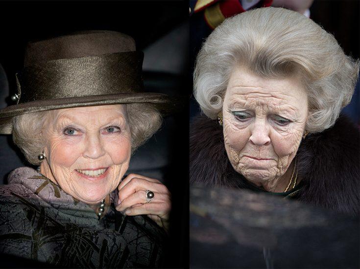 Prinsessan Beatrix på konsert i moll