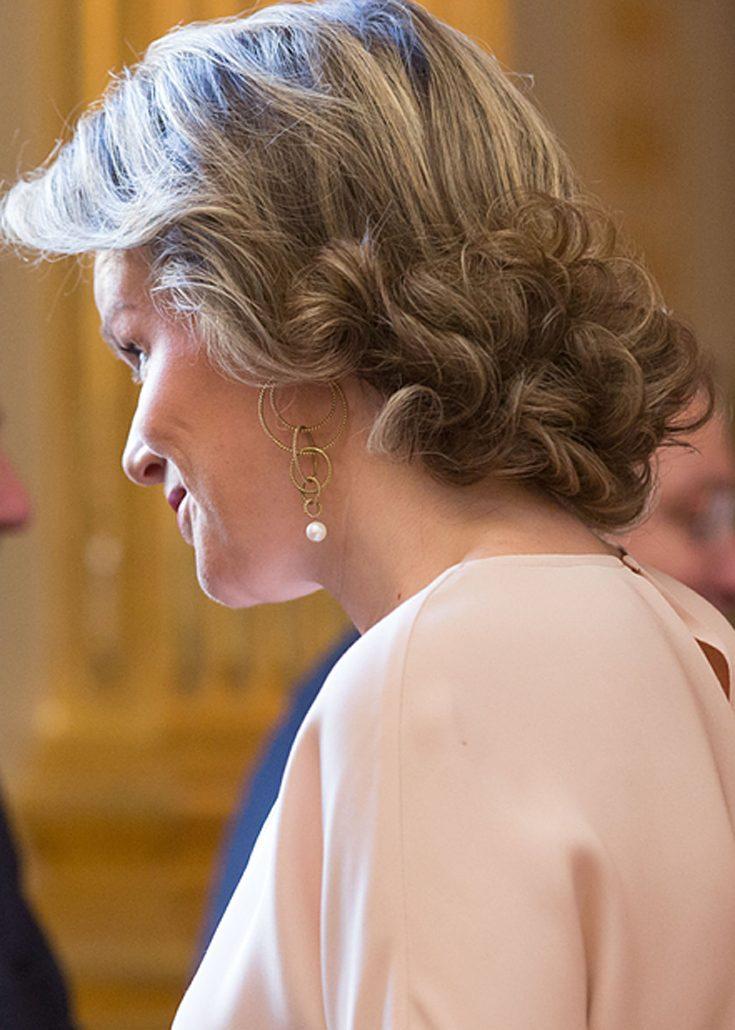 Kronprinsessan Mathilde fick en puss