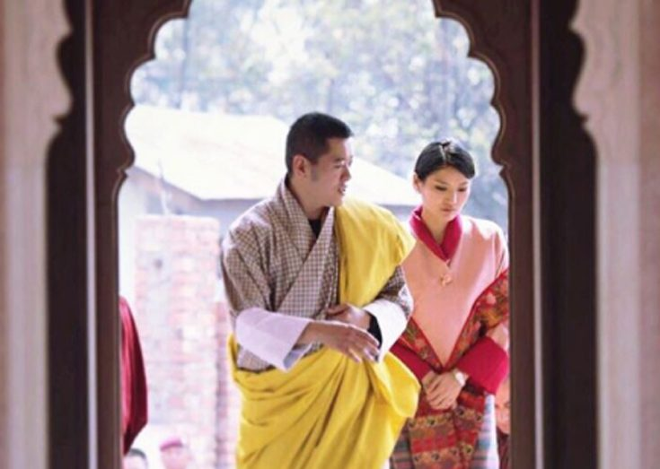 Nu firas prinsens födelse i Bhutan