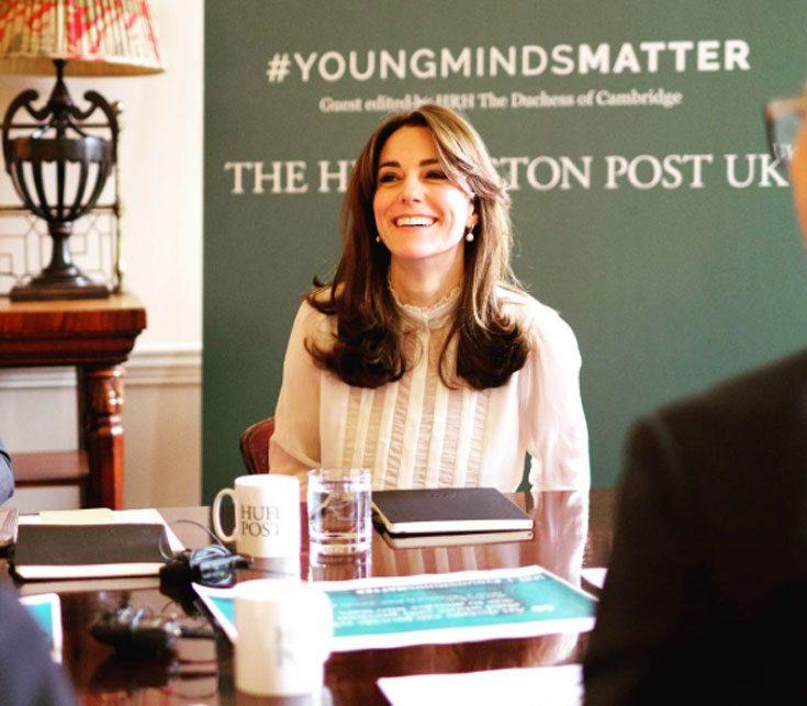 Kate har startat sitt nya jobb - som bloggare