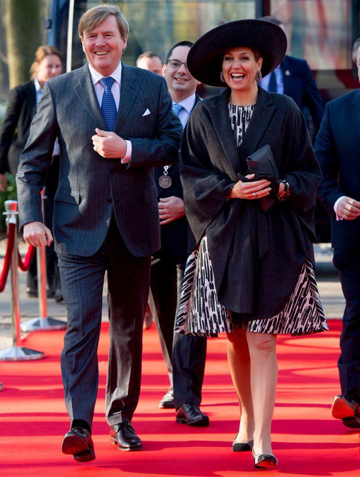Kung Willem-Alexander och drottning Maxima besöker Danmark