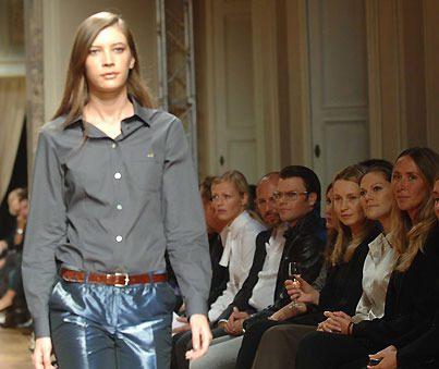 Modelejonen Victoria och Daniel i Milano